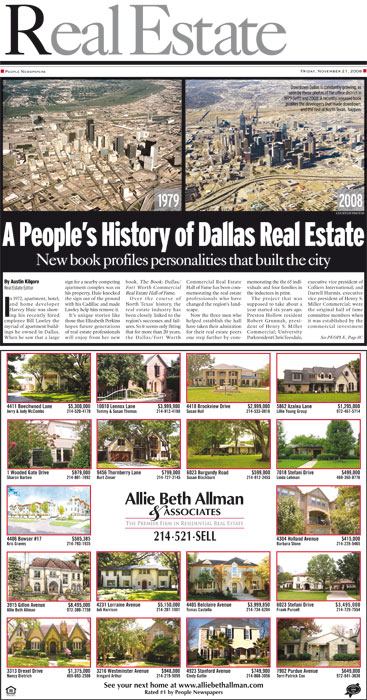 Dallas Real Estate Cover (2008)