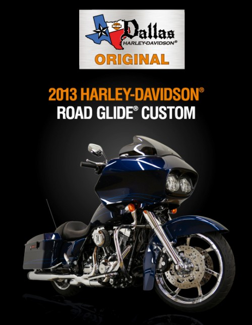 Road Glide Custom Brochure (2013)