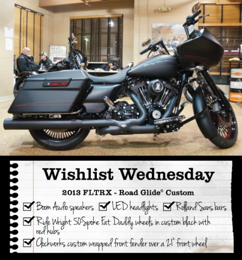 Wishlist Wednesday E-Newsletter Bike Features