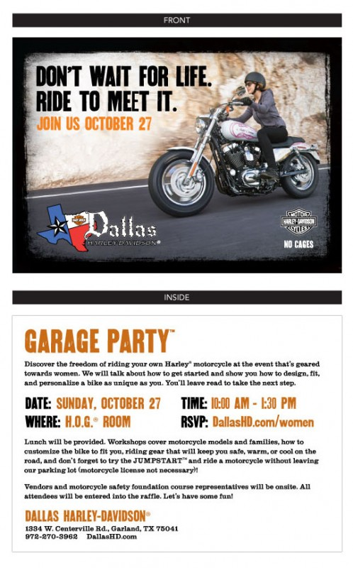 Garage Party Invite (2013)