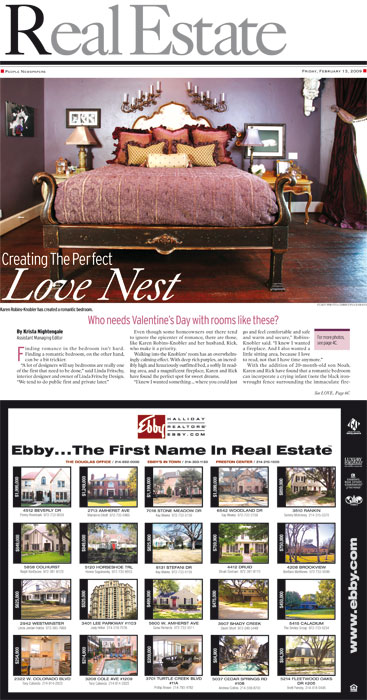 Real Estate Special Section Cover (2009)