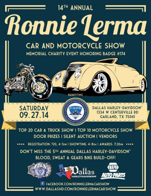 14th Annual Ronnie Lerma Car And Motorcycle Show (2014)