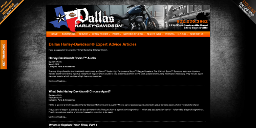 www.DallasHD.com Articles (2014)